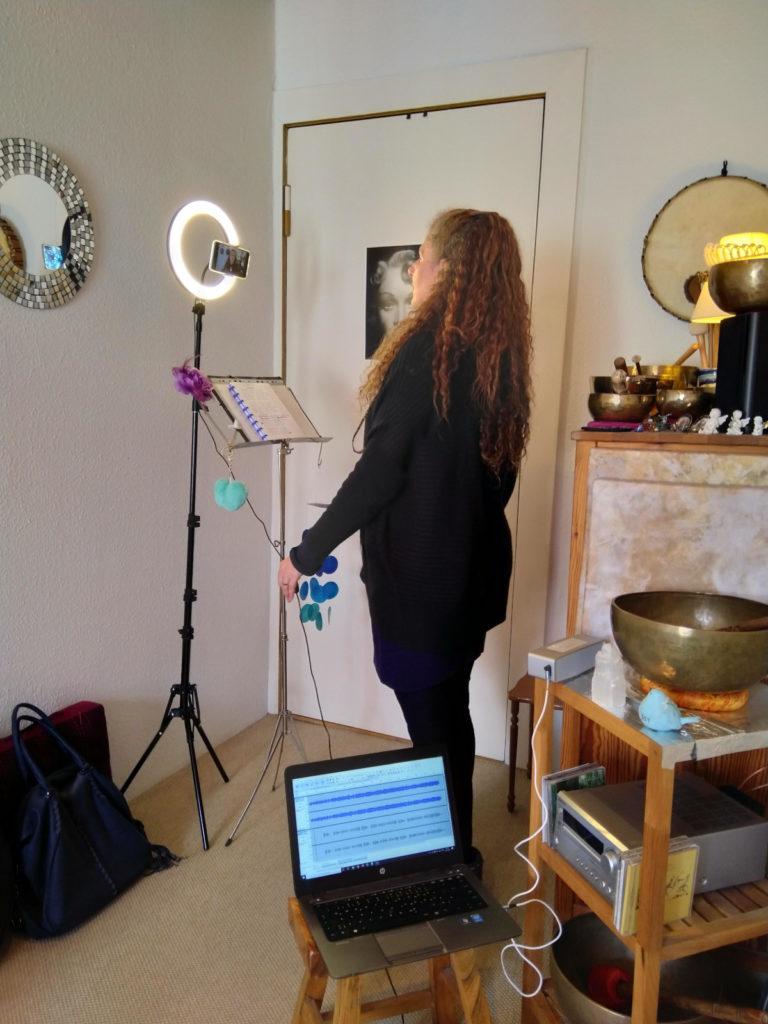 Raphaela Gilla home recording Berlin