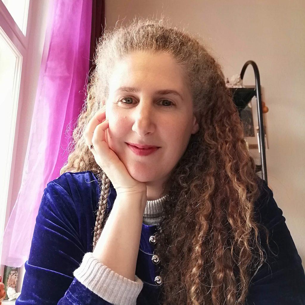 Raphaela Gilla in her home studio